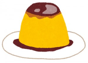 free-illustration-sweets-purin