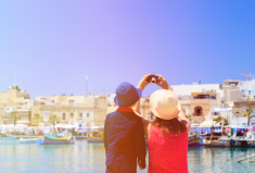 stock-photo-89414907-mother-and-son-making-selfie-while-travel-in-malta
